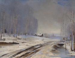 Саврасов Алексей Кондратьевич (1830 - 1897) Распутица. 1894. холст, масло