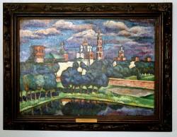 Машков Илья Иванович (1881 - 1944) Новодевичий монастырь. 1912 - 1913,  холст, масло