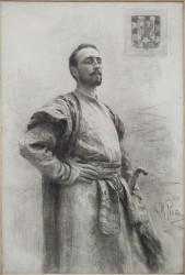 И.Е.Репин «Портрет Ф.Н. Романова» (ок. 1897)