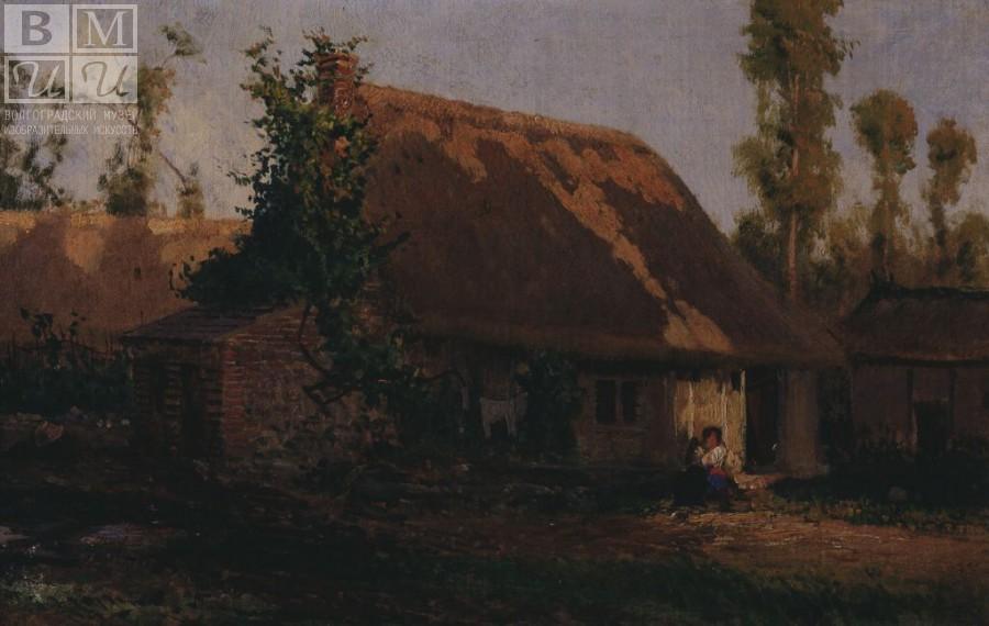 А.П.Боголюбов Домик в Вёле 1877